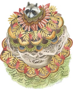Image of Quilted Forest: Raccoon