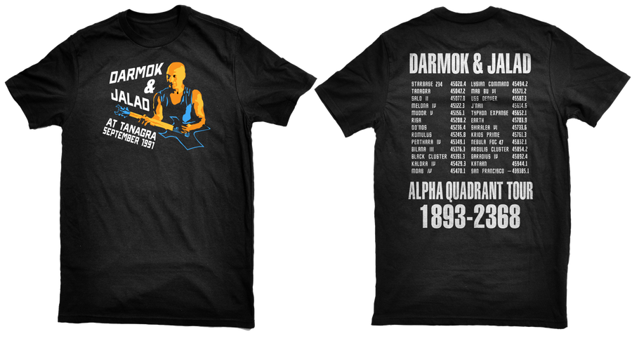 Image of Darmok & Jalad at Tanagra (Front & Back)