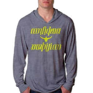Image of Confidence & Ambition Ambigram Beach Hoodie