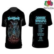 Image of CARNIVORE DIPROSOPUS TOUR T-shirts