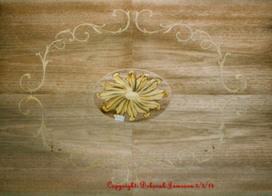 Image of Item No. 49. Fan feather Marquetry Panel.