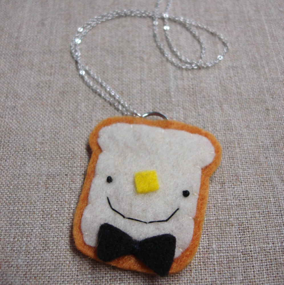 Image of toast pendants -- made to order