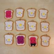 Image of toast pendants