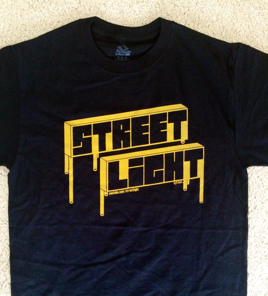 """Image of PREORDER: """"Golden Era"""" BLOCKED OUT Tee!"""
