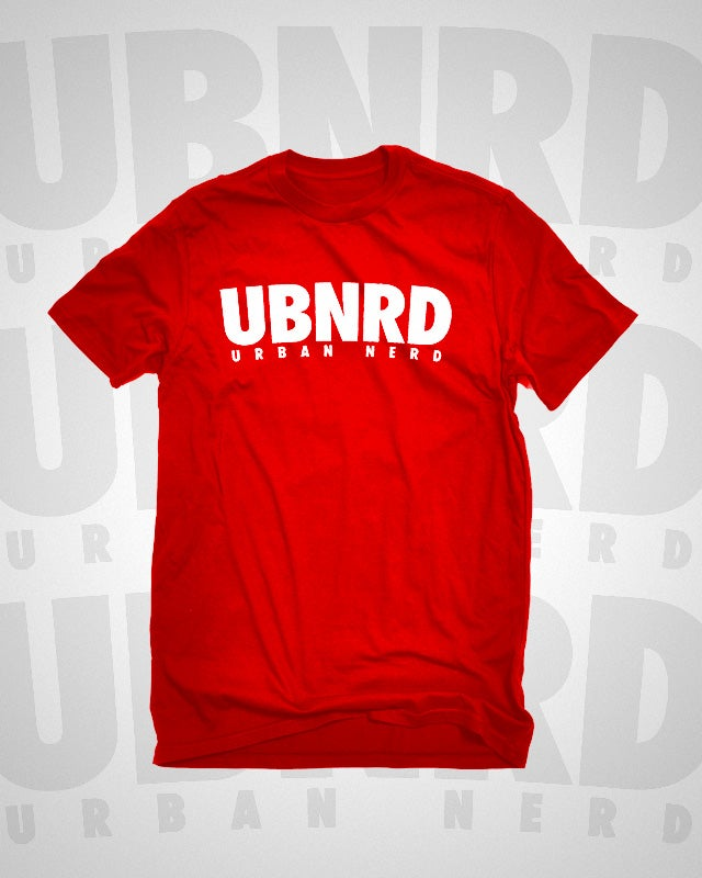 Image of Urban Nerd ™ HASHTAG TEE (RED)