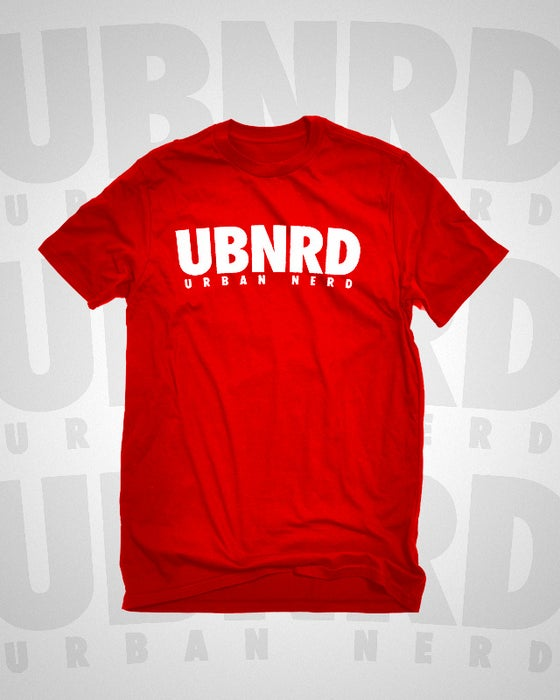 Image of Urban Nerd ™ ACRONYM TEE (RED)