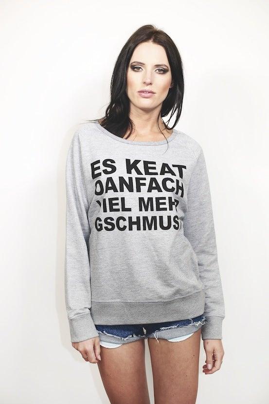 Image of NOWHERE - Schmuse Sweatshirt