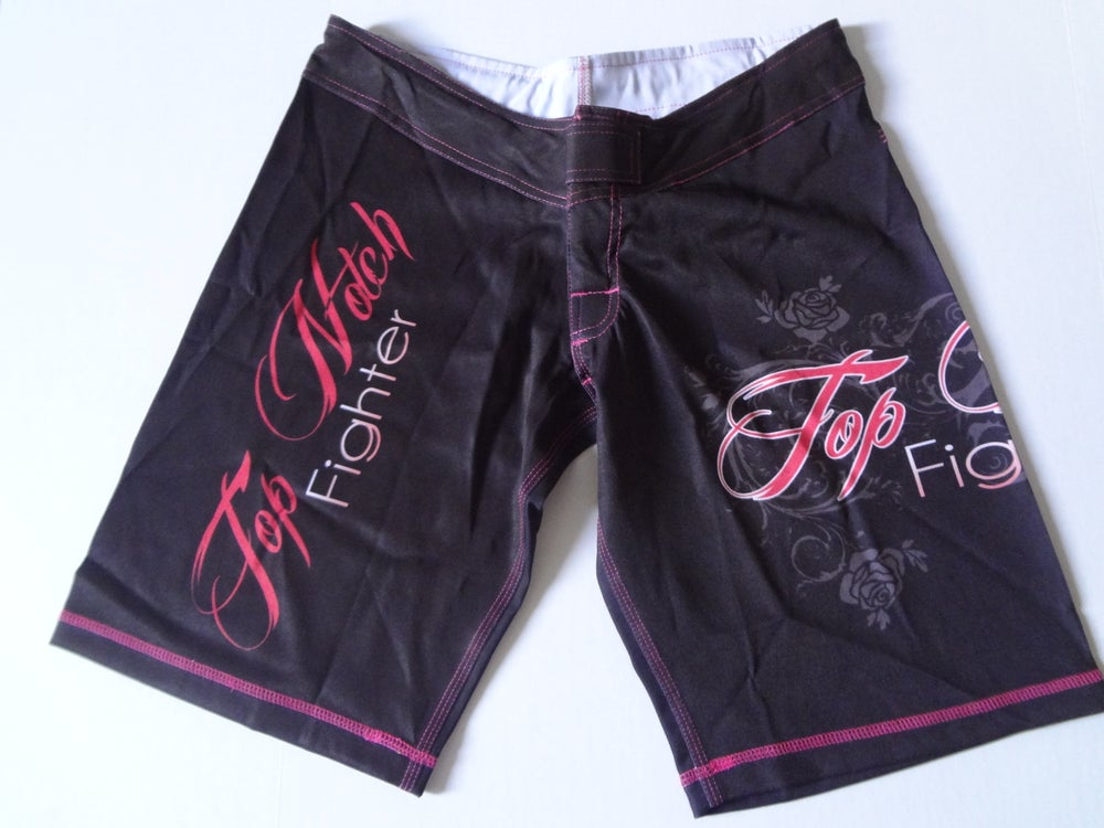 Image of Top Notch Fighter girls shorts (long/Pink)
