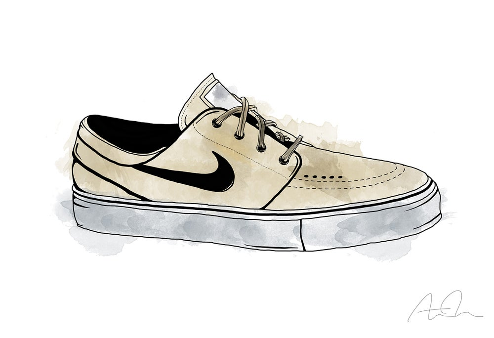 Image of Nike SB Zoom Stefan Janoski Premium Print (Limited)