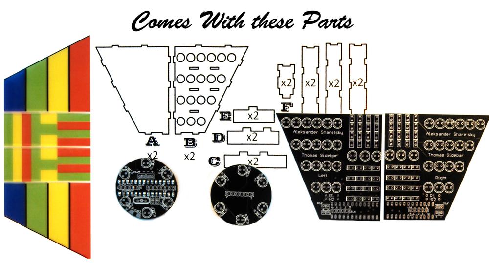 Image of Thomas Sidebars + Ear Upgrade kit V2