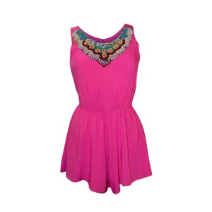 Image of Sun Dreamer Playsuit (Fuschia)