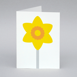 Image of Daffodil card