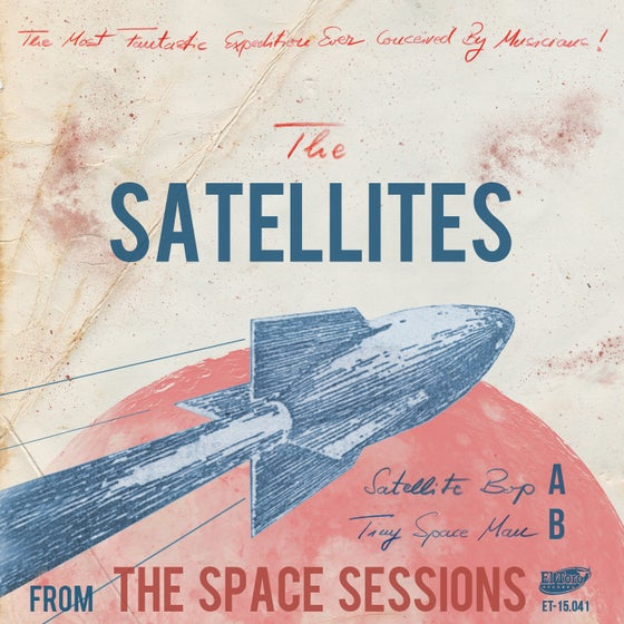 "Image of The Space Sessions - 7"" Single (Vinyl)"