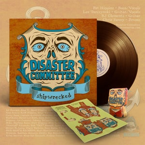"""Image of Disaster Committee - """"Shipwrecked"""" - 12"""" vinyl record"""