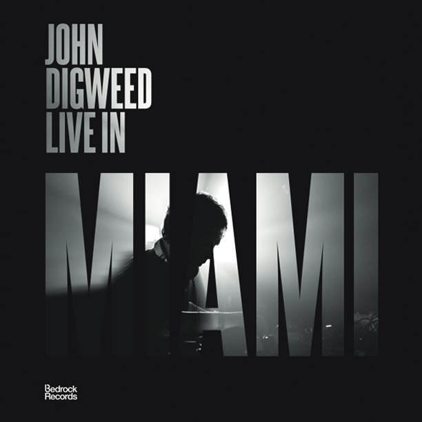 Image of John Digweed Live in Miami 3xCD Ltd Signed Slipcase Edition Signed for Shipping