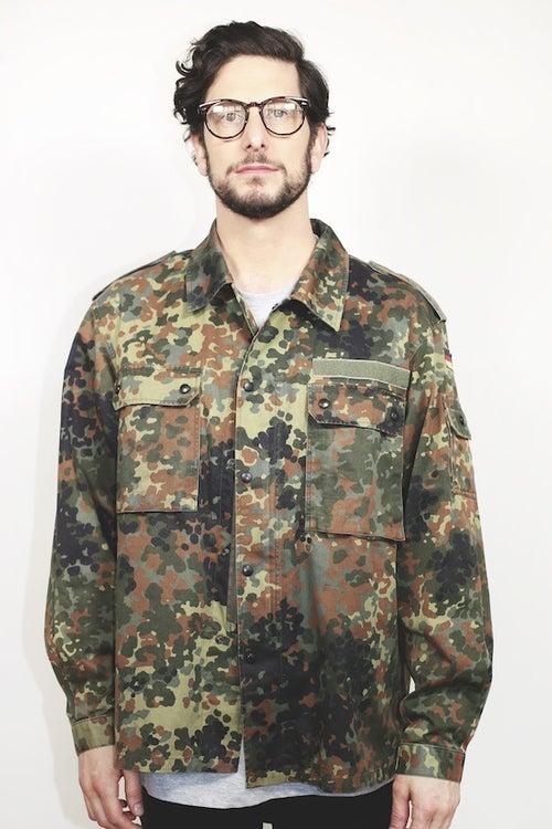 Image of Military Field Jacket - Vintage