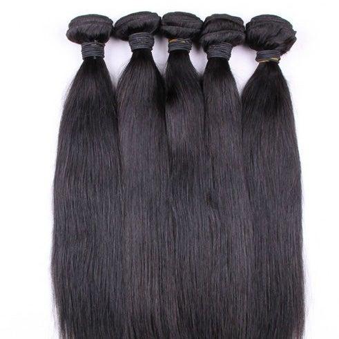 Image of Brazilian Straight Hair 3 BundlesBrazilian Straight Hair Bundles