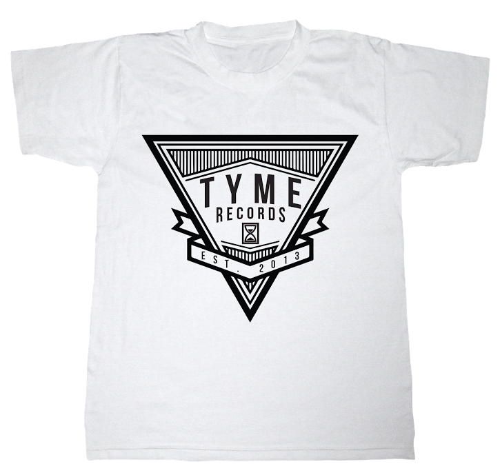 Image of Tyme Records Triangle Tee
