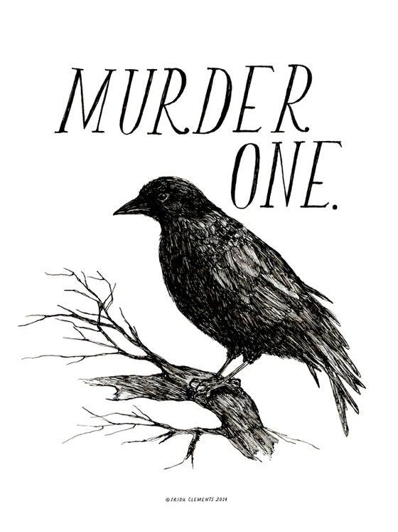 Image of Murder One / Mini Print