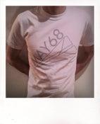 Image of Halftone Logo T-shirt (White)