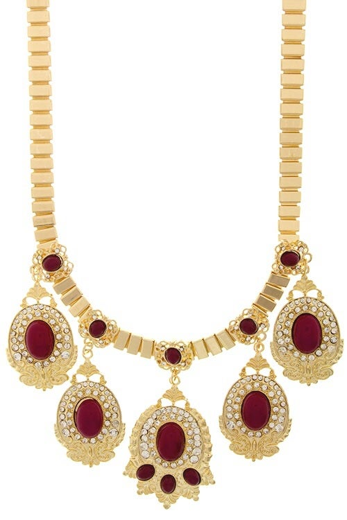 Image of Goddess Statement Necklace