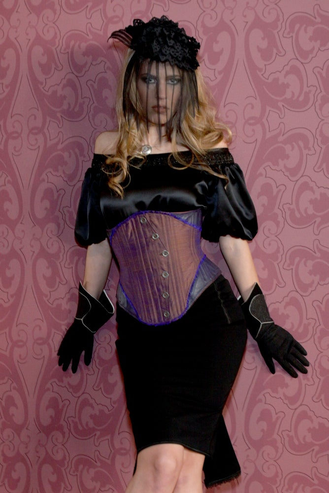 Image of Purple Curvy Underbust