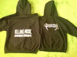 Image of KILLING MUSIC ACROSS EUROPE HOODIE