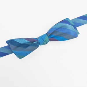Image of blue horizons bow tie