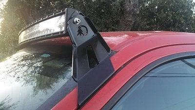 "Image of !!NEW!! 2009-2014 Ford Raptor/F-150 50"" Radius light bar mounts"