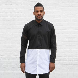 Image of 2 Tone Long Shirt