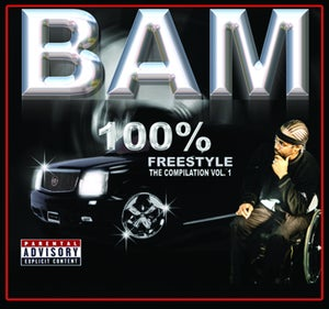 Image of BAMS 100 o/o FREESTYLE featuring Z-RO,HAWK,KIOTTI,D-RED,SHOWTIME & many others