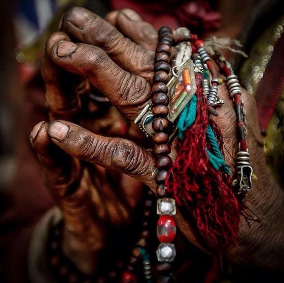 Image of Cory Richards (Praying Hands)