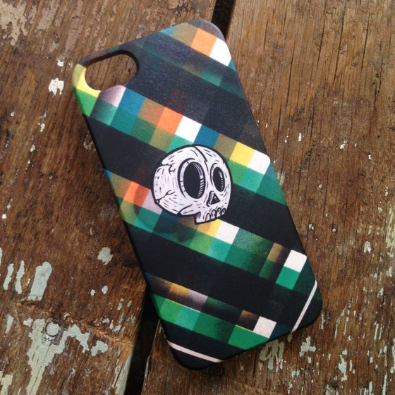 Image of SKULLY PLAID - iPhone5/5s case