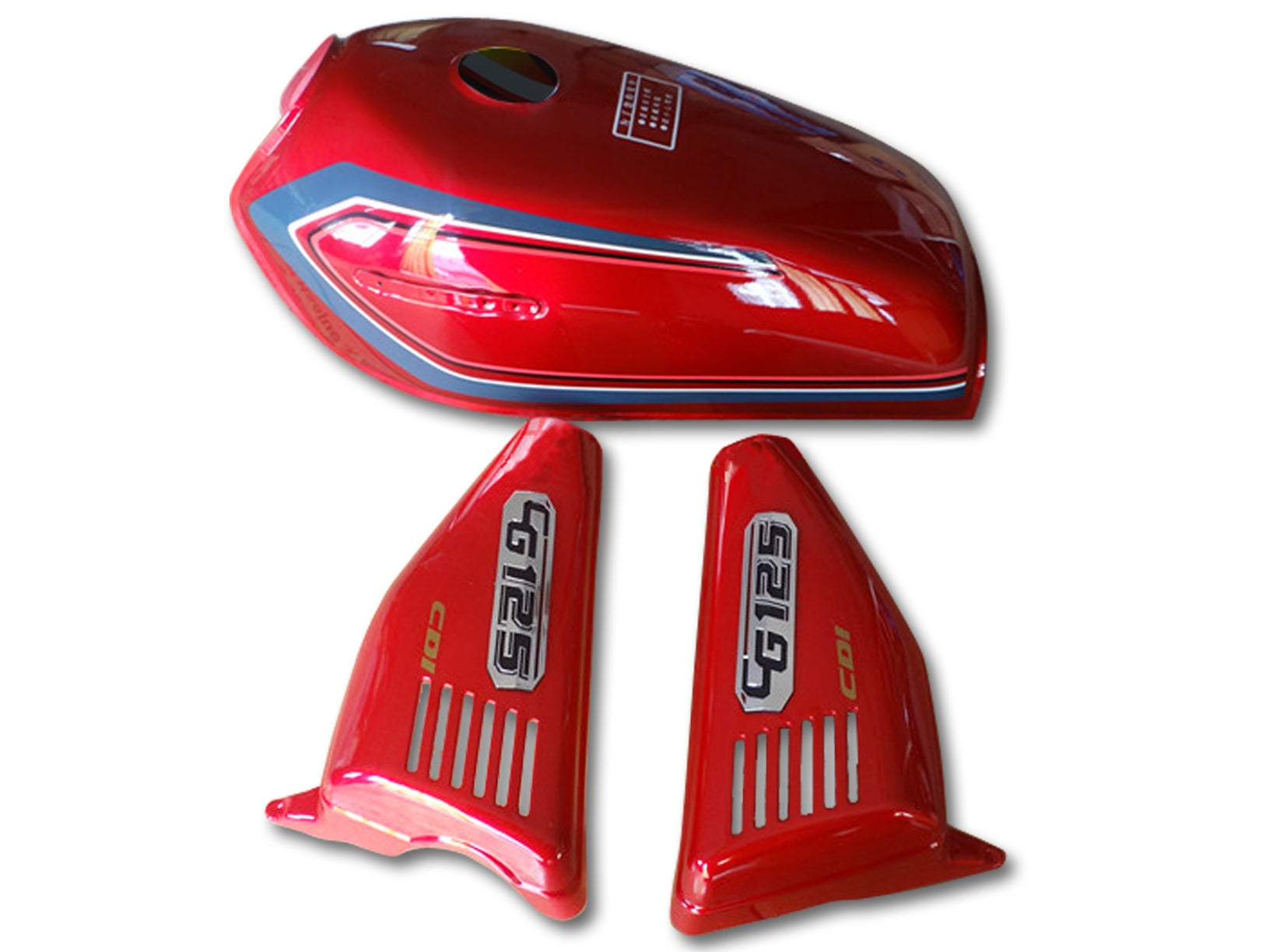Cafe Racer Honda Cg125 Fuel Tank Gas Tank Cover Set 1
