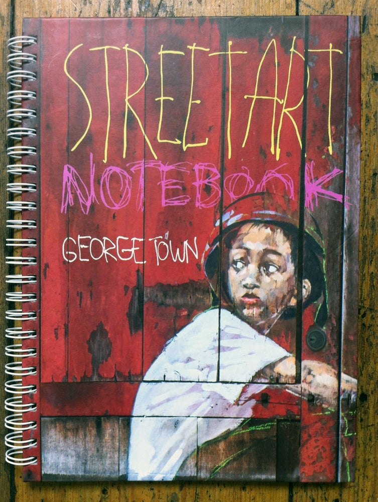 Image of ERNEST ZACHAREVIC STREET ART GEORGE TOWN NOTEBOOK