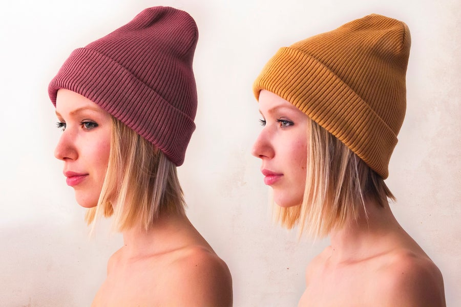 Image of Rose | Orange Beanie
