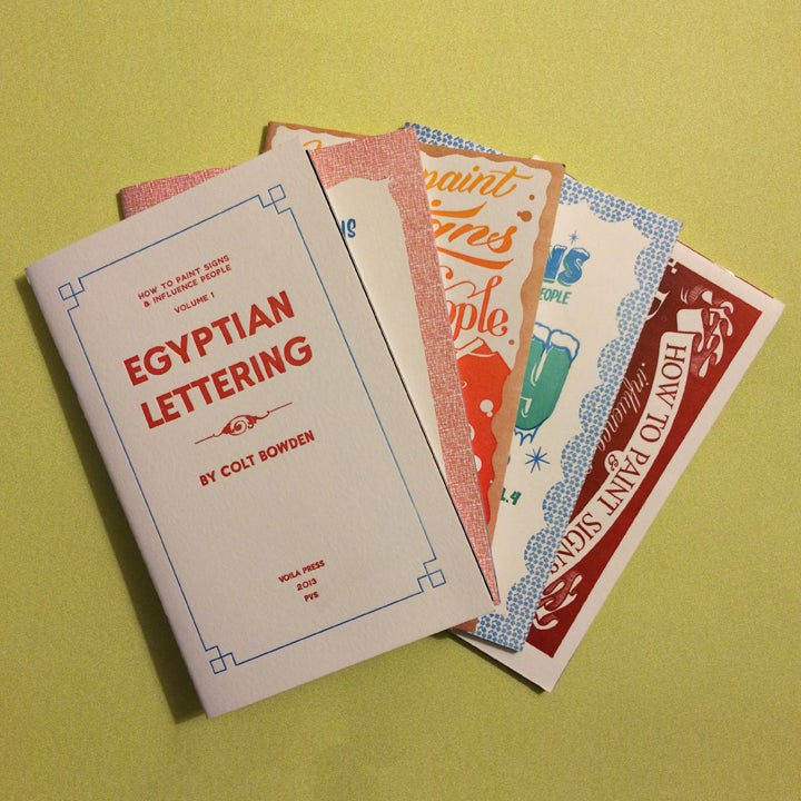 Image of Volumes 1-5 Letterpress Cover