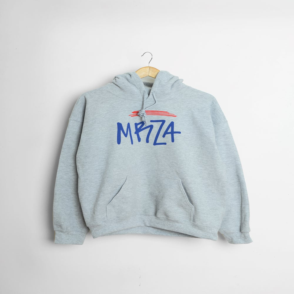 Image of MRZA - Grey Pullover Hoody