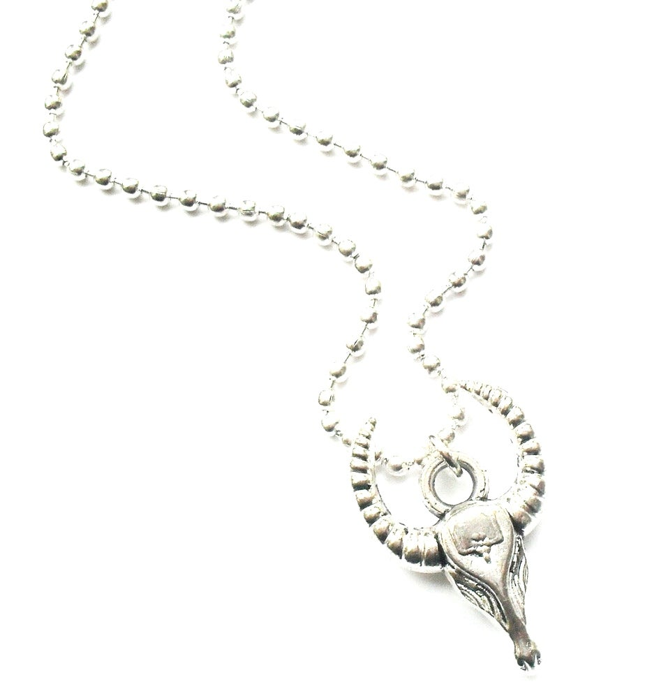 Image of Kool Jewels Vintage Rams Horn Necklace
