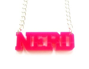 Image of Kool Jewels NERD Necklace