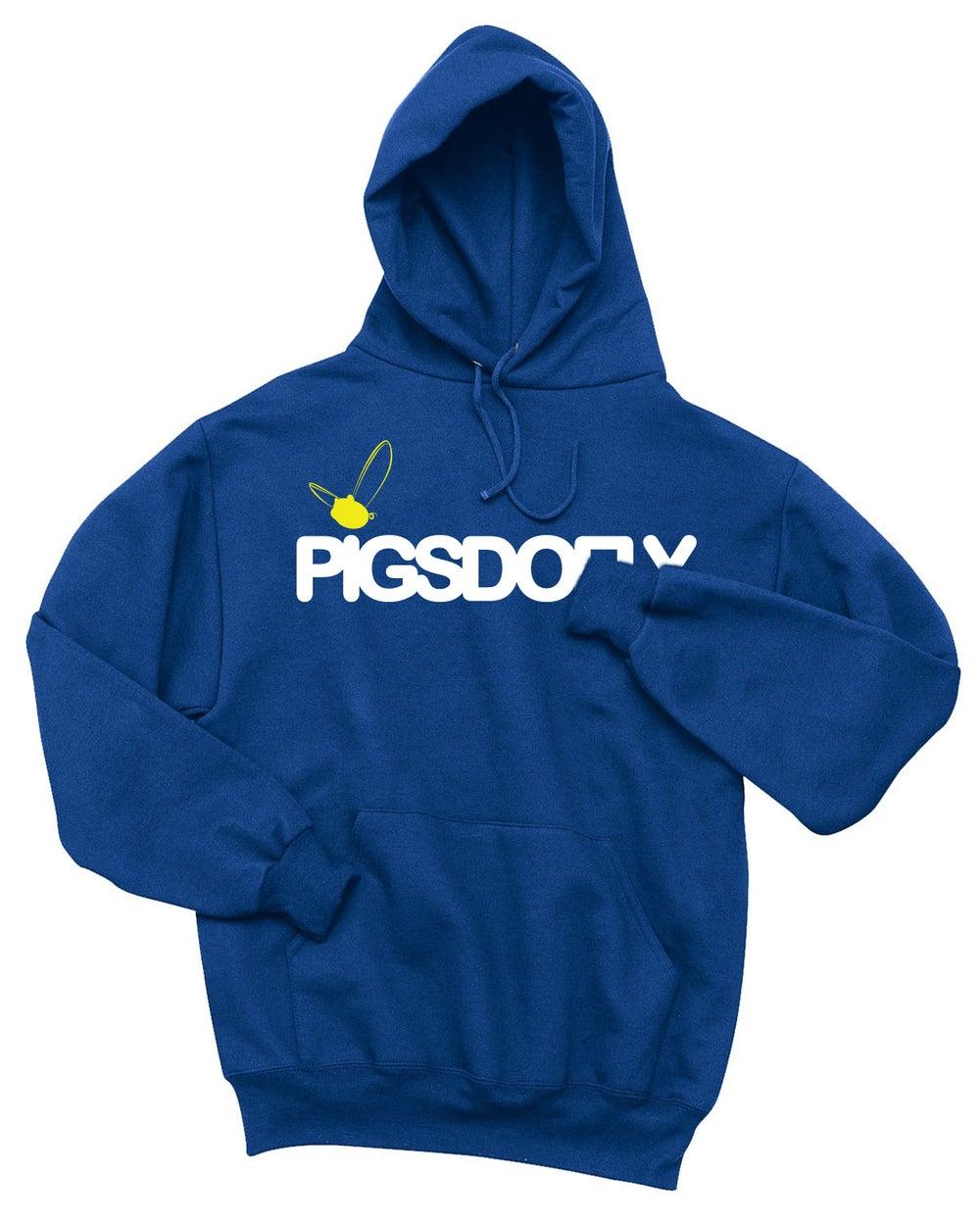 "Image of ""PIGSDOFLY GSW"" ROYAL BLUE/HOODY"