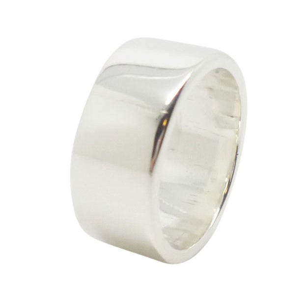 Image of Thick Sterling Silver Ring