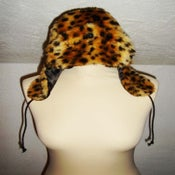 Image of Cheetah Print Faux Fur Hats!