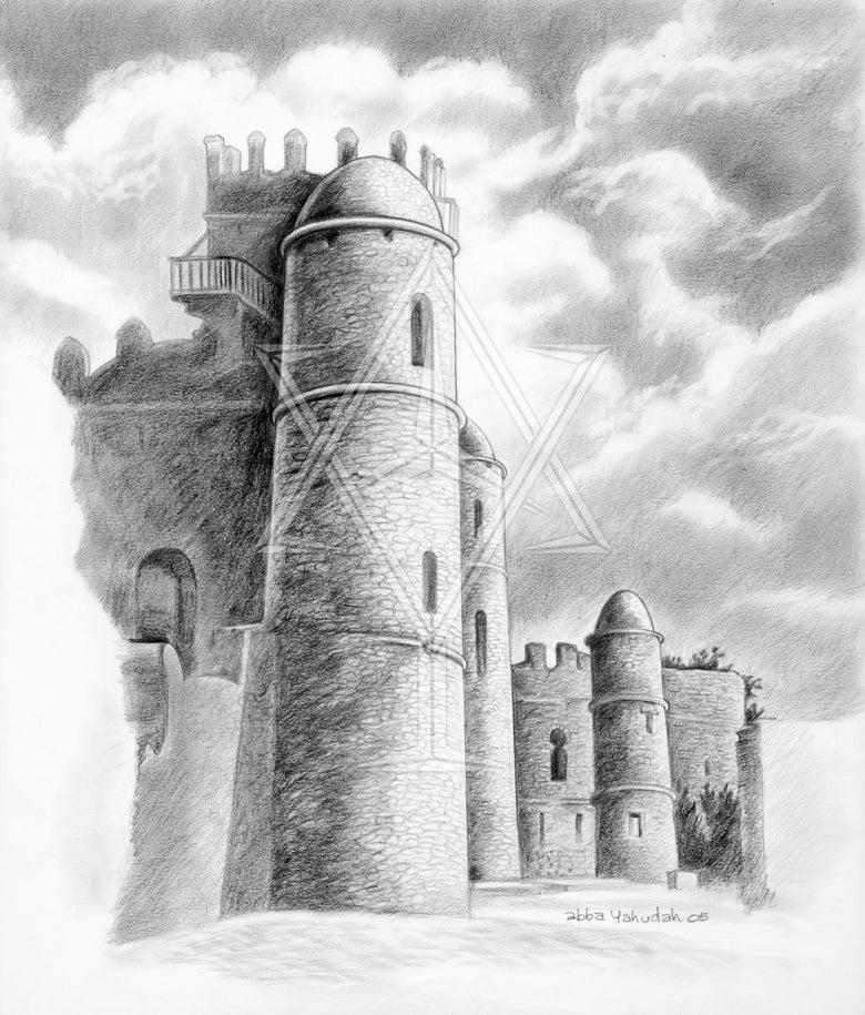 Image of Medieval Castle in Gondar ©2005