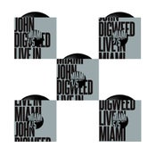 "Image of John Digweed Live in Miami 5x12"" Limited Edition Vinyl"