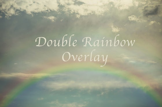 Image of Double Rainbow Overlay