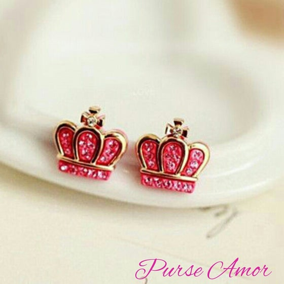 Image of Crown Me Earrings
