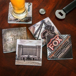 Image of Motorcity Coasters (set of 4)