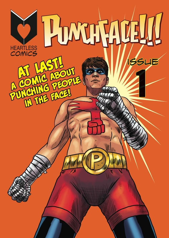 Image of PUNCHFACE!!! Issue #1