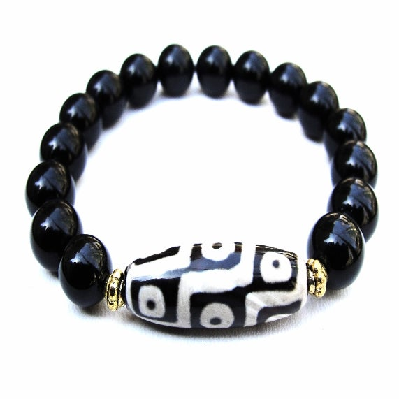 boybeads for the hunger project s 10mm black onyx